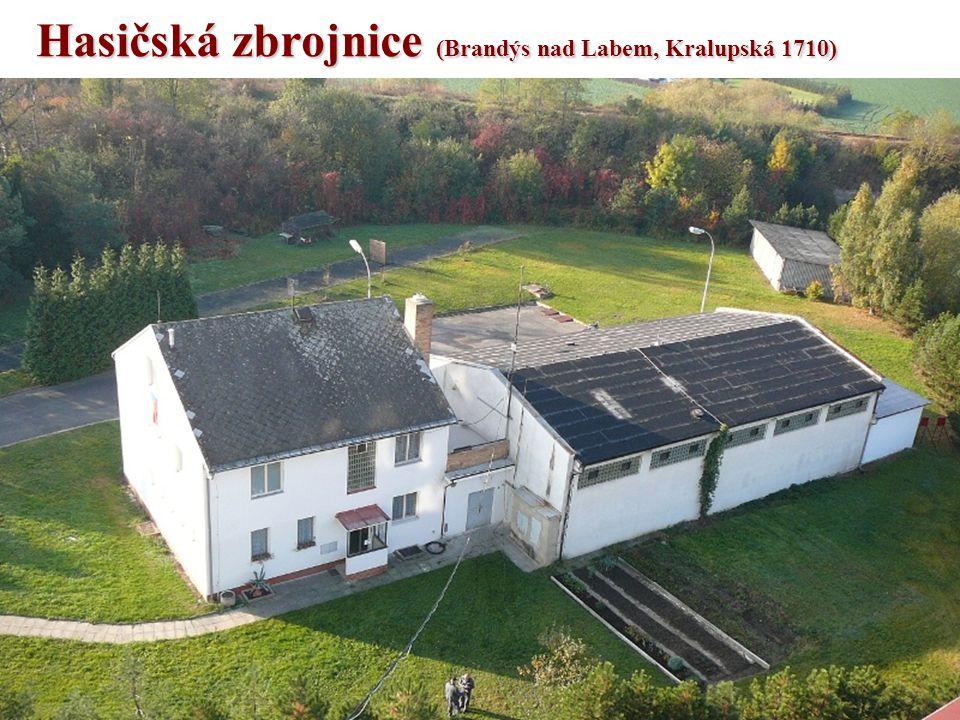 Hasičská zbrojnice (Brandýs nad Labem, Kralupská 1710)