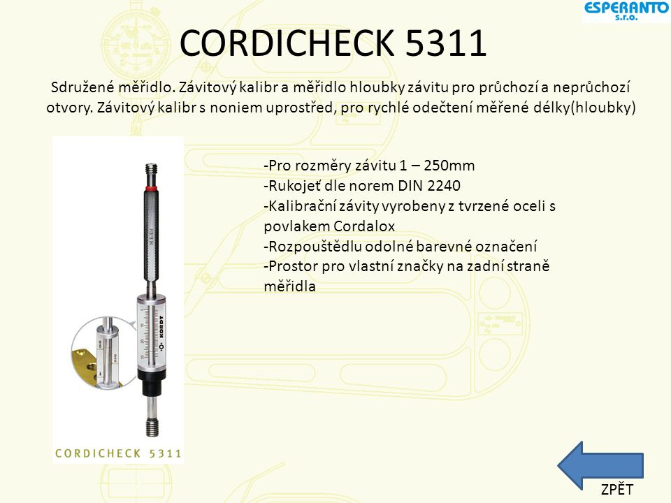 CORDICHECK 5311