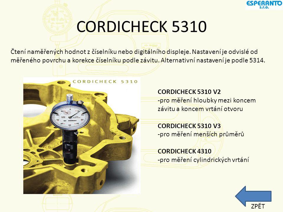 CORDICHECK 5310