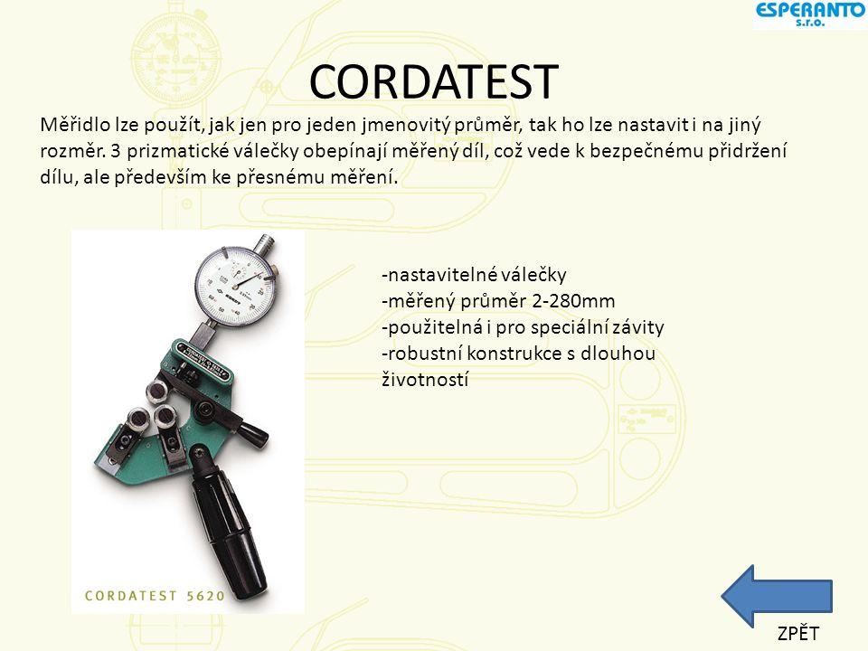 CORDATEST