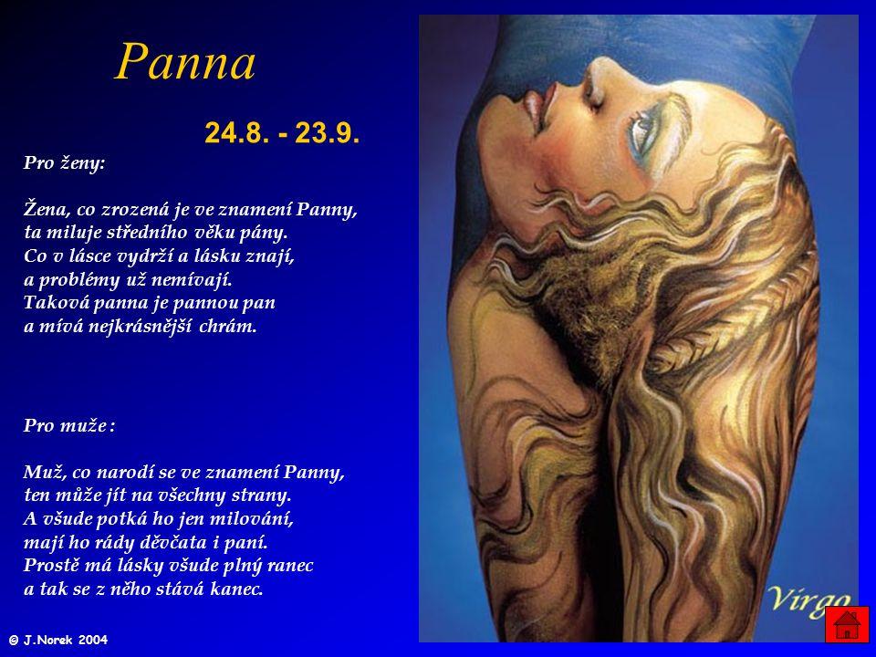 Panna 24.8. - 23.9.