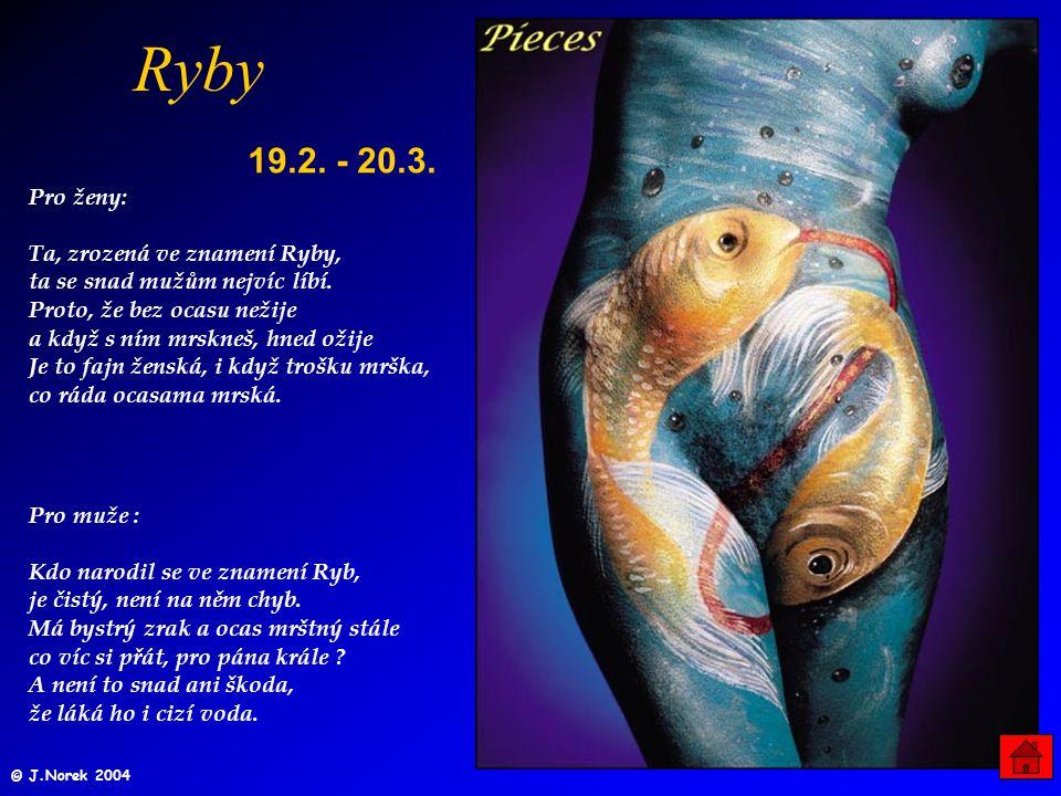 Ryby 19.2. - 20.3.
