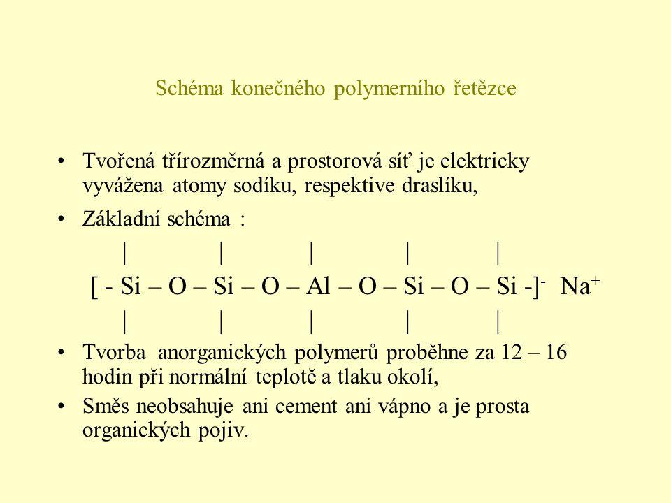 Schéma konečného polymerního řetězce