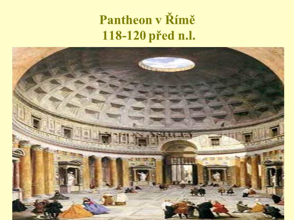 Pantheon v Římě 118-120 před n.l.