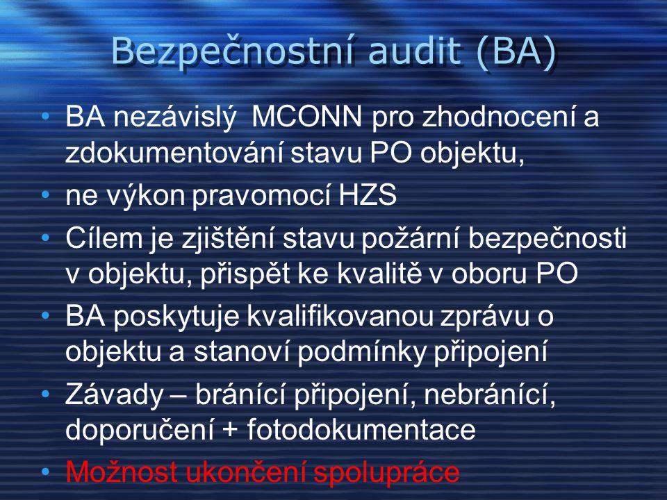 Bezpečnostní audit (BA)