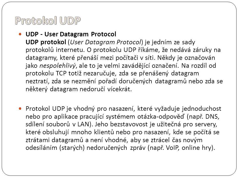 Protokol UDP