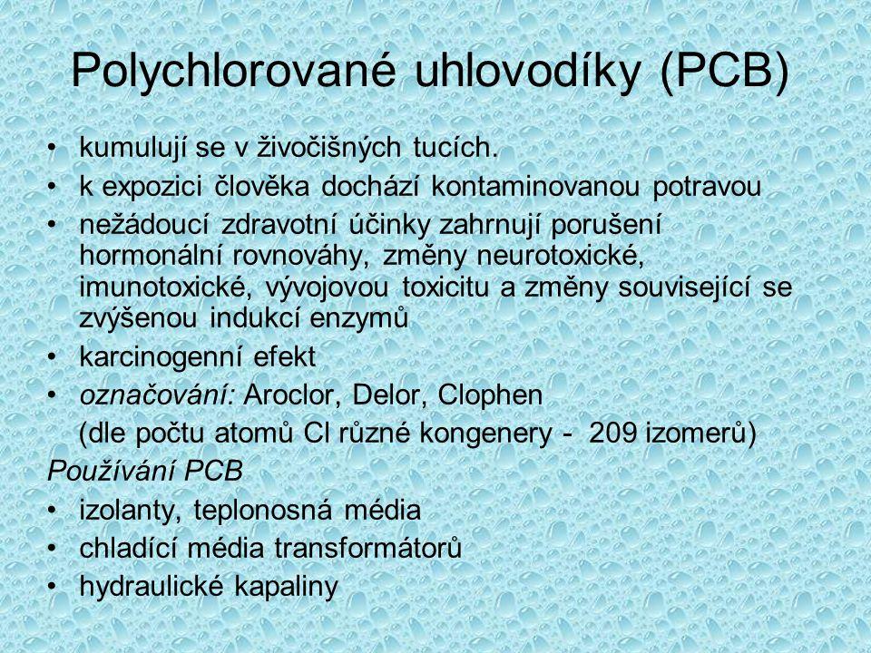 Polychlorované uhlovodíky (PCB)
