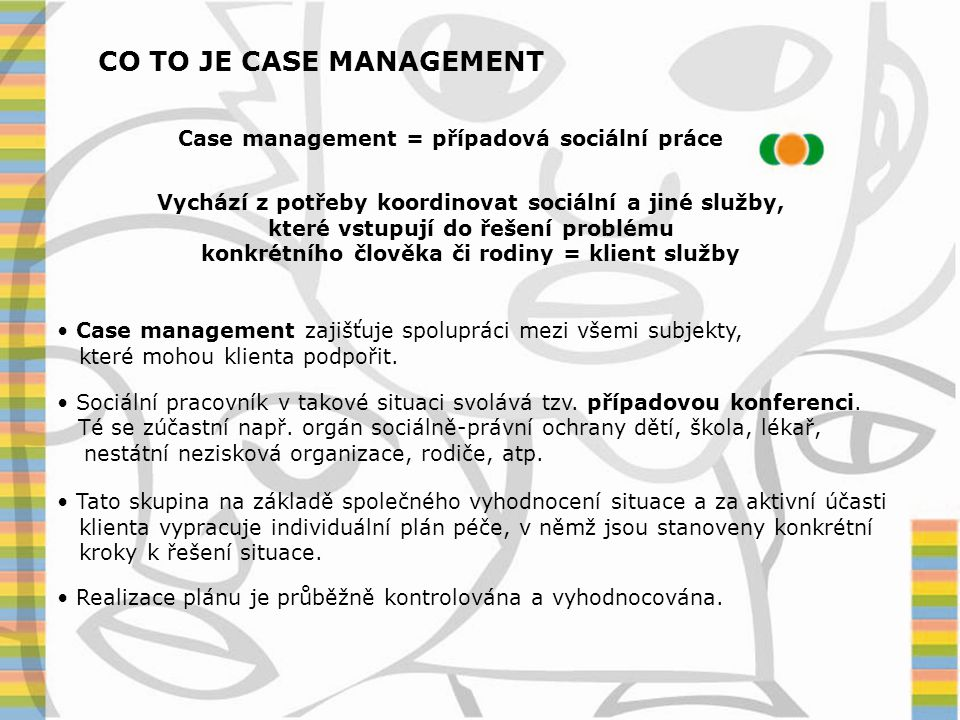CO TO JE CASE MANAGEMENT