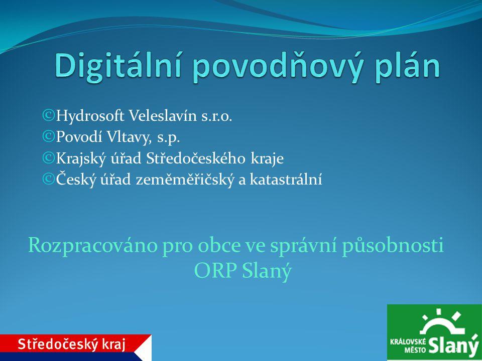 Digitální povodňový plán