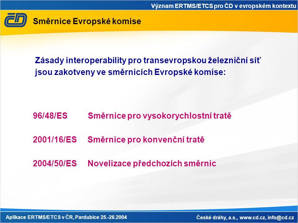 Směrnice Evropské komise