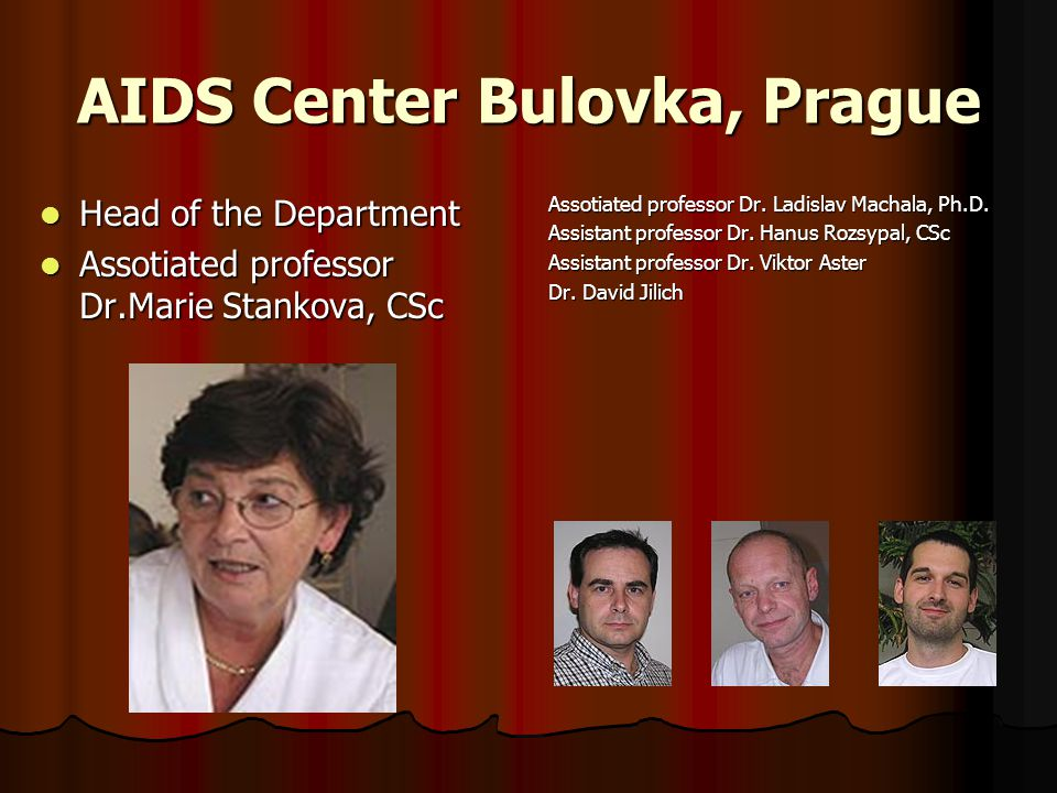 AIDS Center Bulovka, Prague