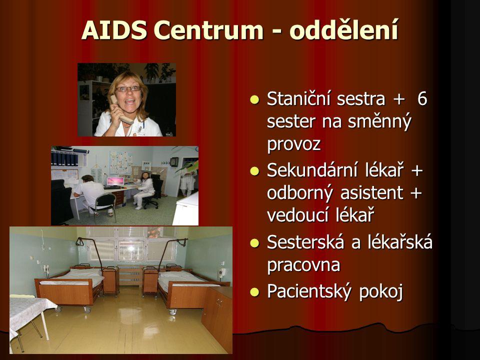 AIDS Centrum - oddělení