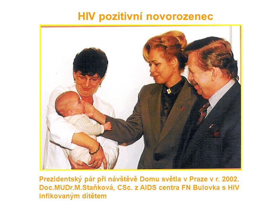 HIV pozitivní novorozenec