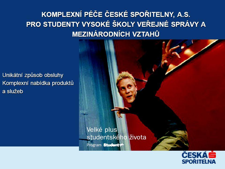KOMPLEXNÍ PÉČE ČESKÉ SPOŘITELNY, A.S.