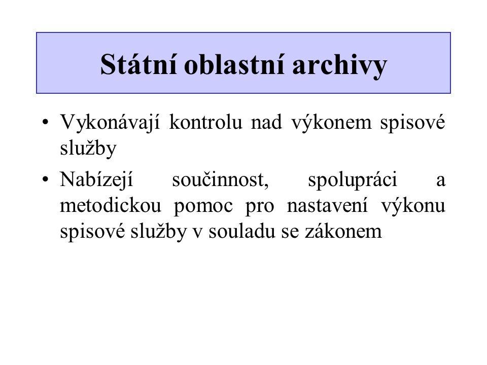 Státní oblastní archivy
