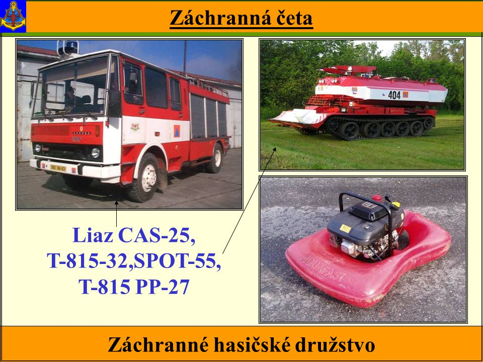 Záchranné hasičské družstvo