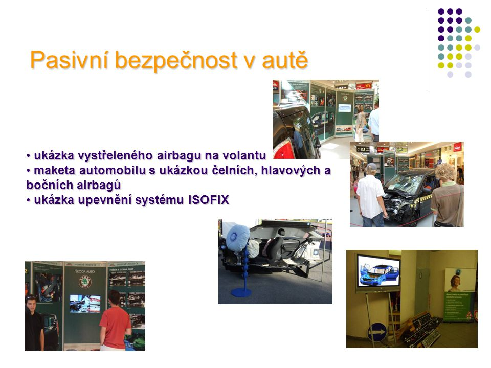 Pasivní bezpečnost v autě