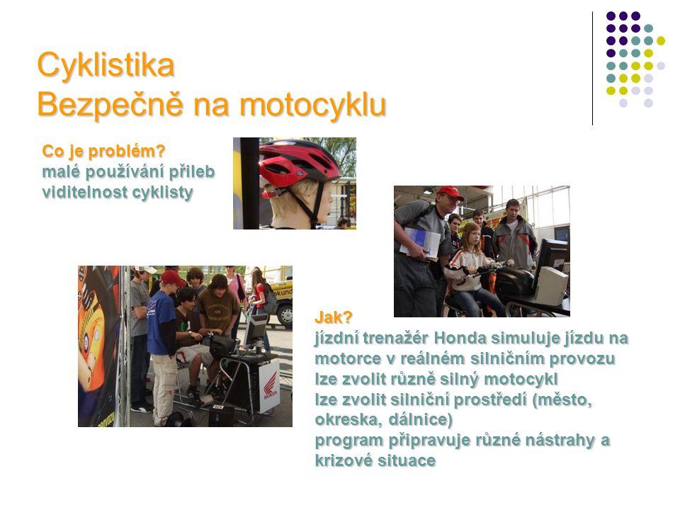 Cyklistika Bezpečně na motocyklu