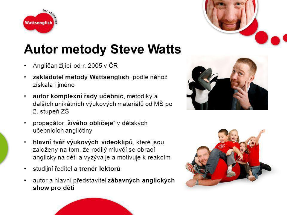 Autor metody Steve Watts