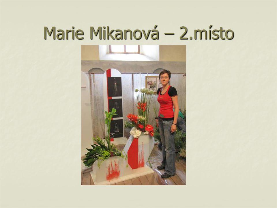 Marie Mikanová – 2.místo