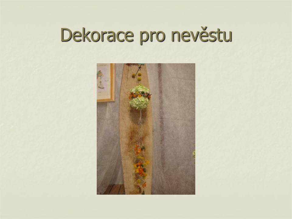 Dekorace pro nevěstu