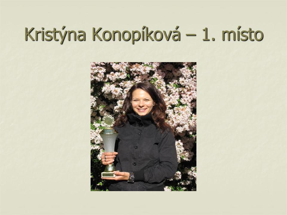 Kristýna Konopíková – 1. místo