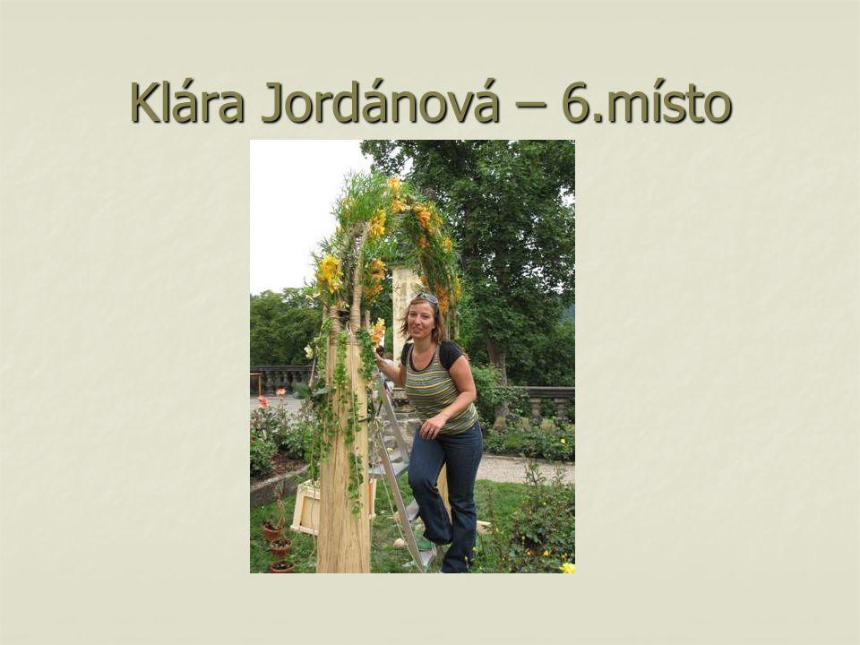 Klára Jordánová – 6.místo