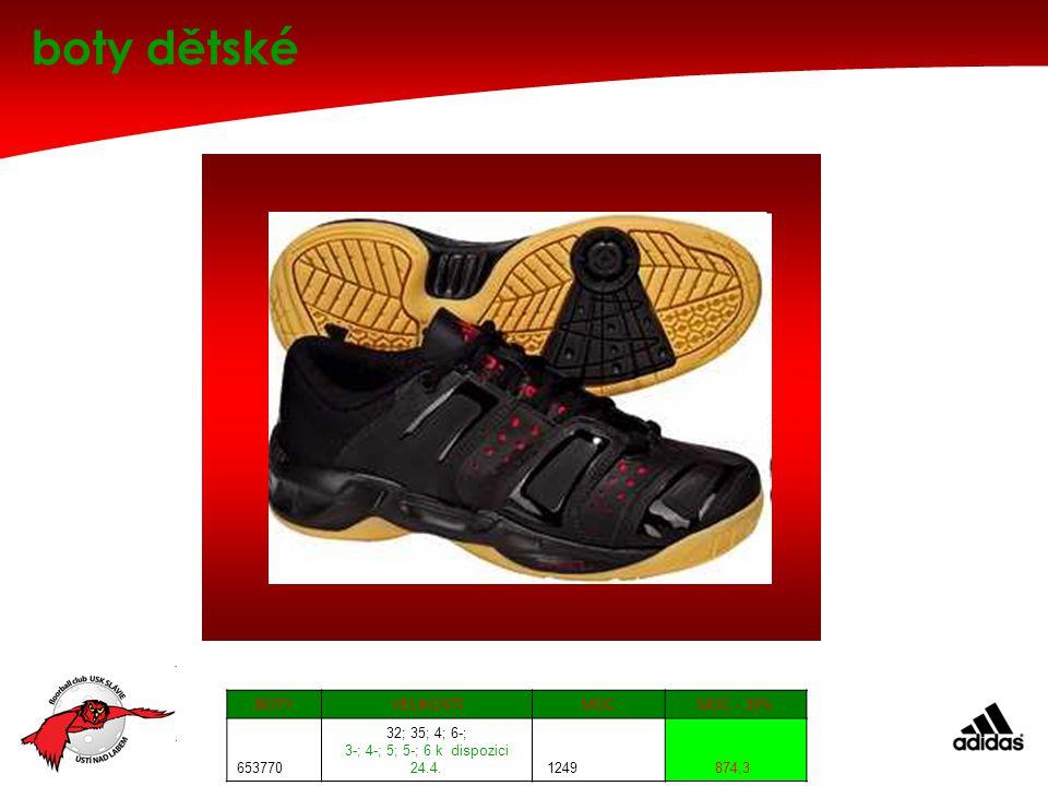 boty dětské BOTY VELIKOSTI MOC MOC - 30% 653770 32; 35; 4; 6-;