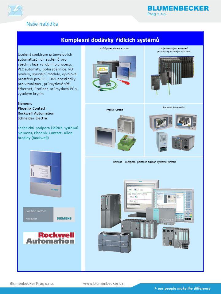 Komplexní dodávky řídicích systémů po systémy s vysokým výkonem