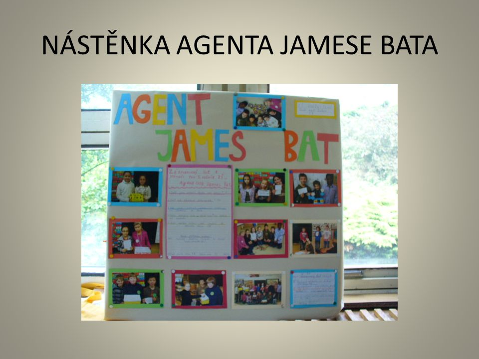 NÁSTĚNKA AGENTA JAMESE BATA