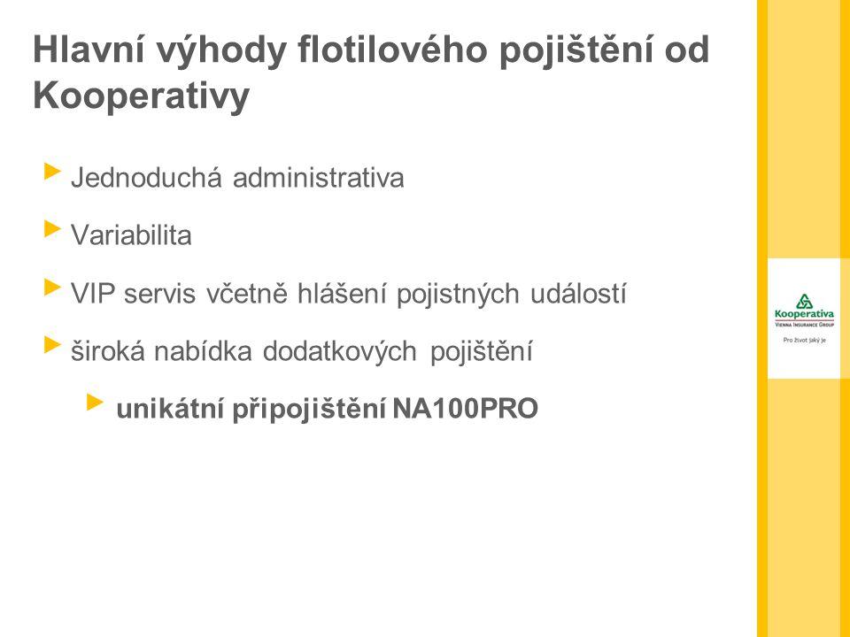 Hlavní výhody flotilového pojištění od Kooperativy