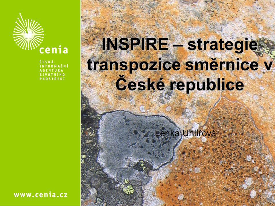 INSPIRE – strategie transpozice směrnice v České republice