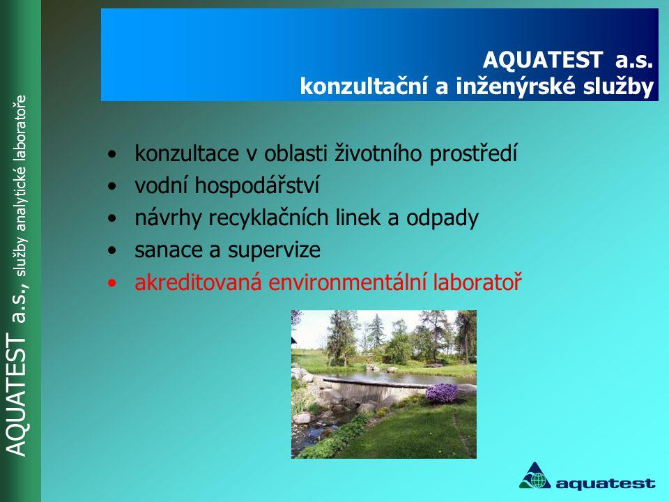 AQUATEST a.s. konzultační a inženýrské služby