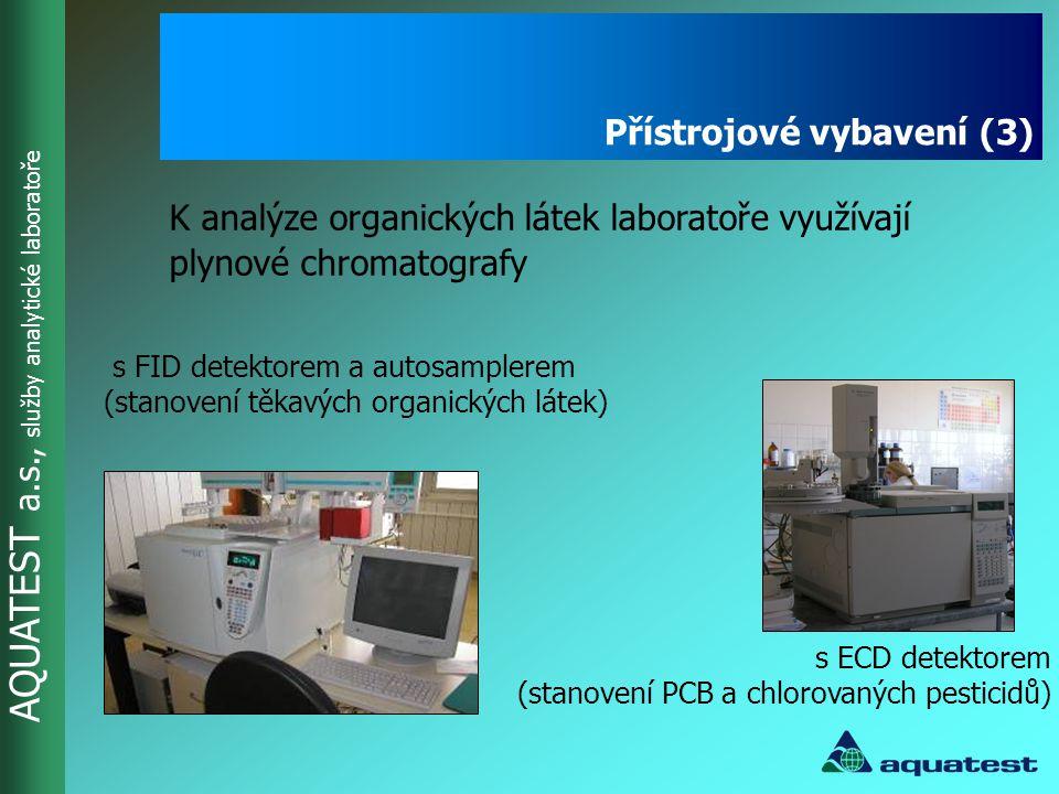 Přístrojové vybavení (3)