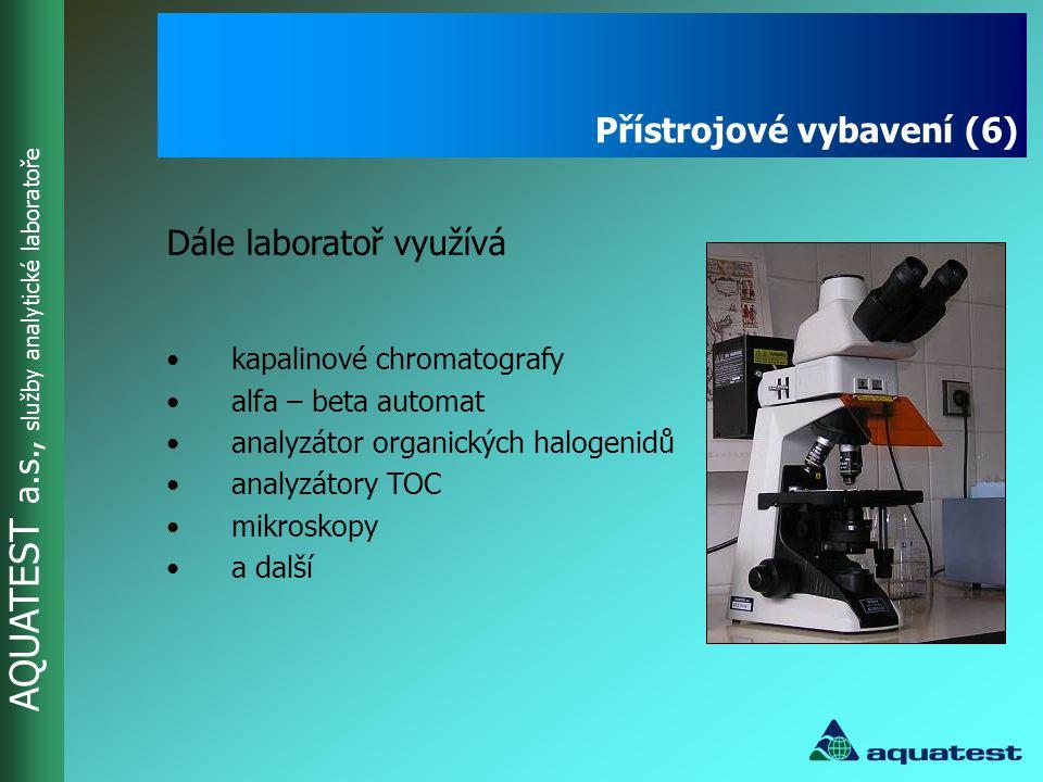 Přístrojové vybavení (6)