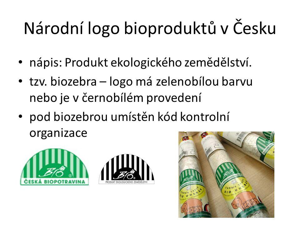 Národní logo bioproduktů v Česku