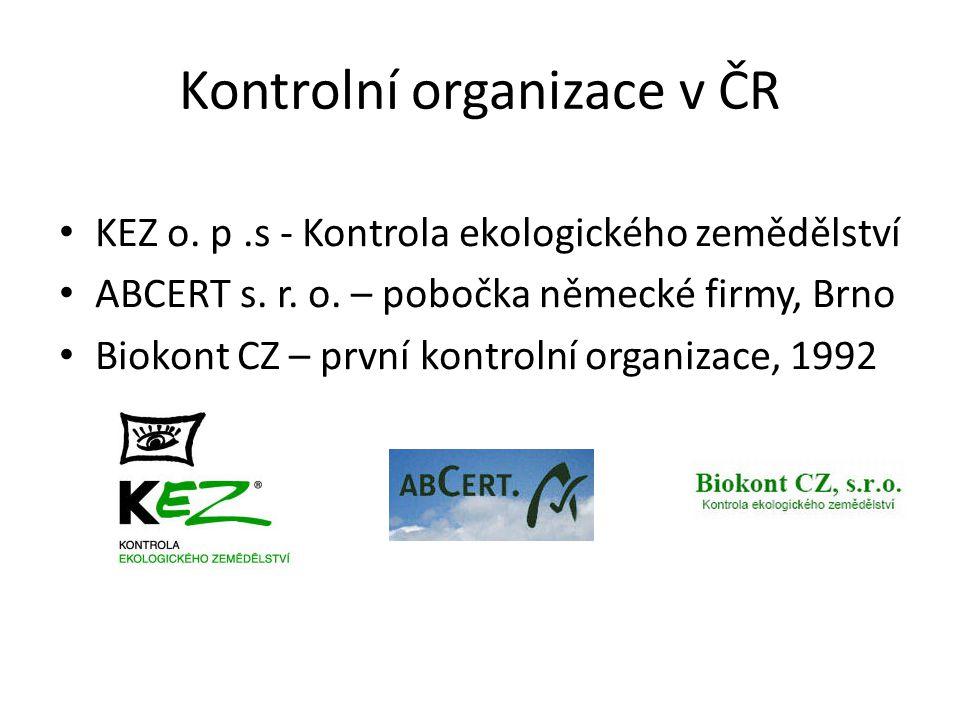 Kontrolní organizace v ČR