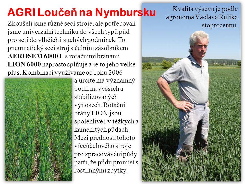 AGRI Loučeň na Nymbursku