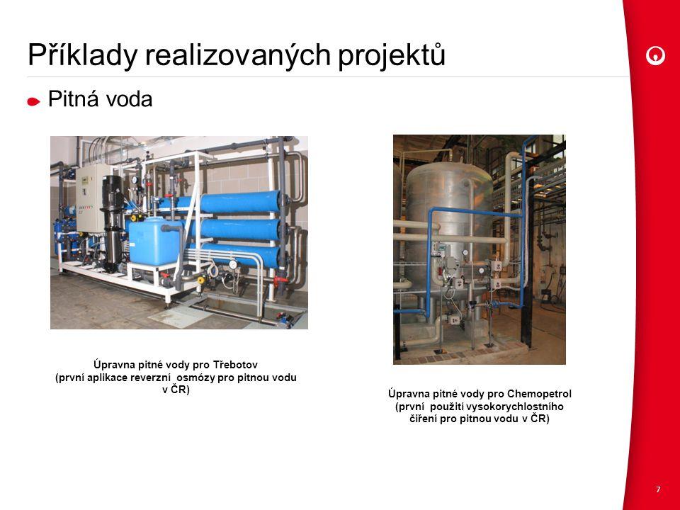 Příklady realizovaných projektů