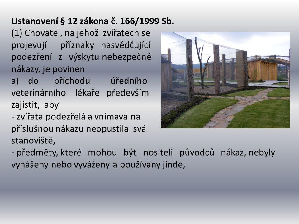 Ustanovení § 12 zákona č. 166/1999 Sb.