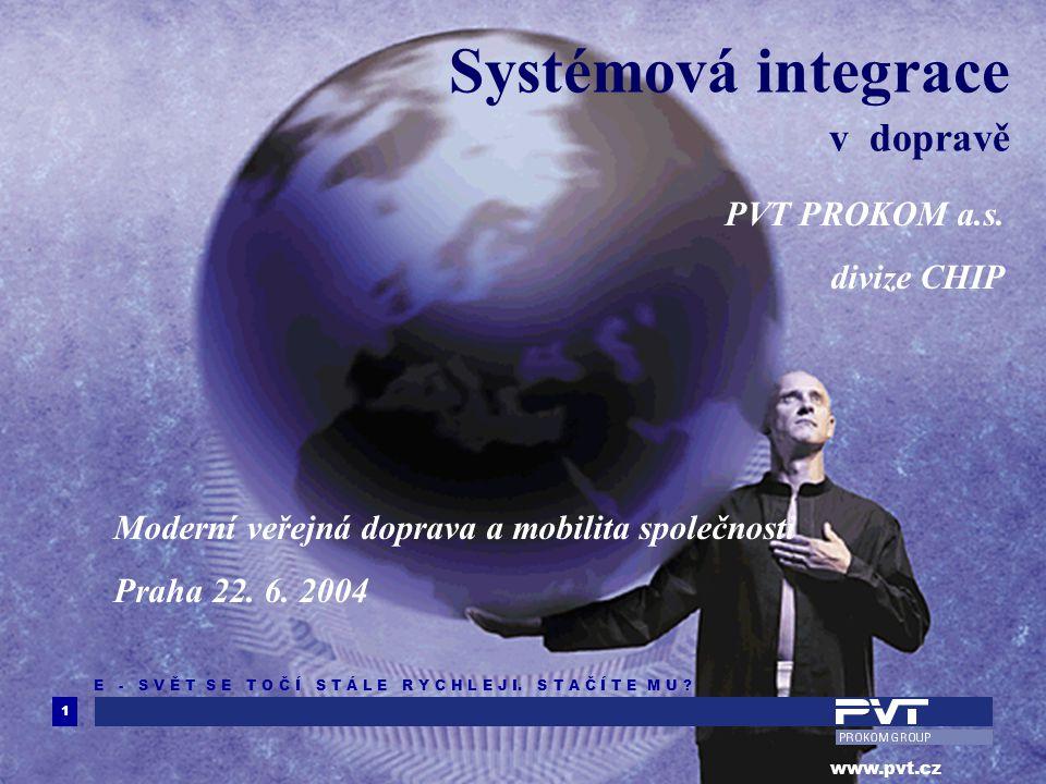 Systémová integrace v dopravě