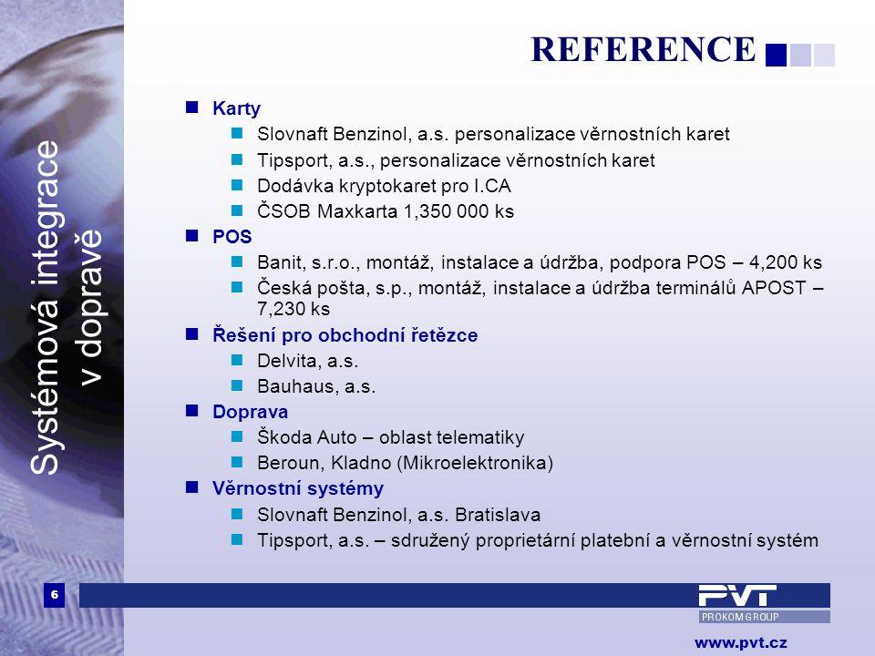 REFERENCE Karty. Slovnaft Benzinol, a.s. personalizace věrnostních karet. Tipsport, a.s., personalizace věrnostních karet.