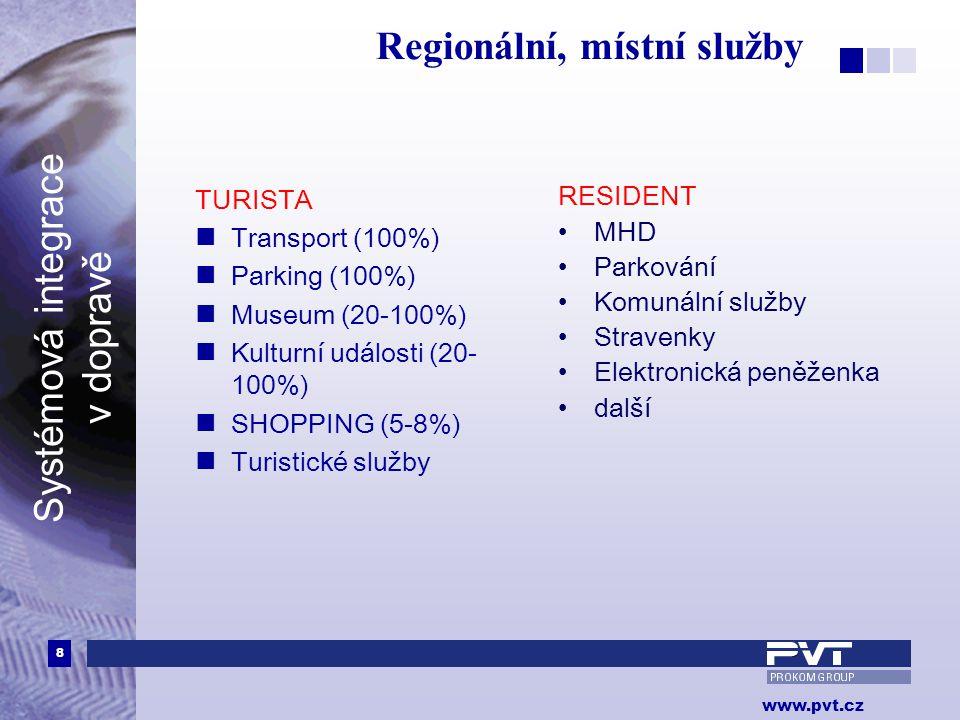 Regionální, místní služby