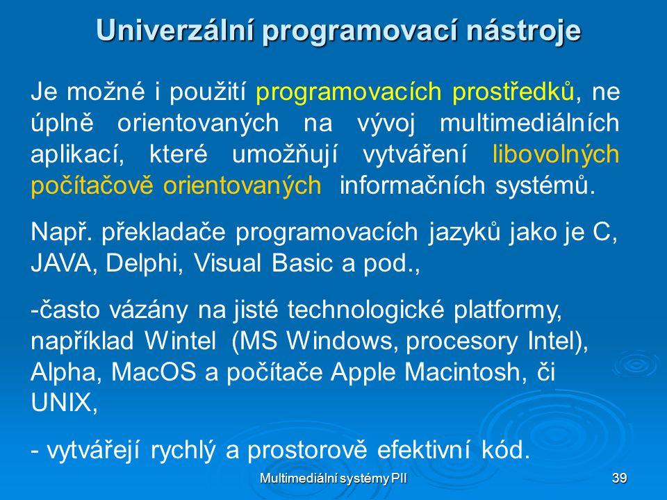 Univerzální programovací nástroje