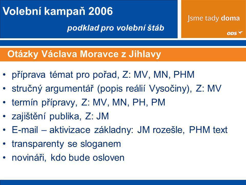 Otázky Václava Moravce z Jihlavy