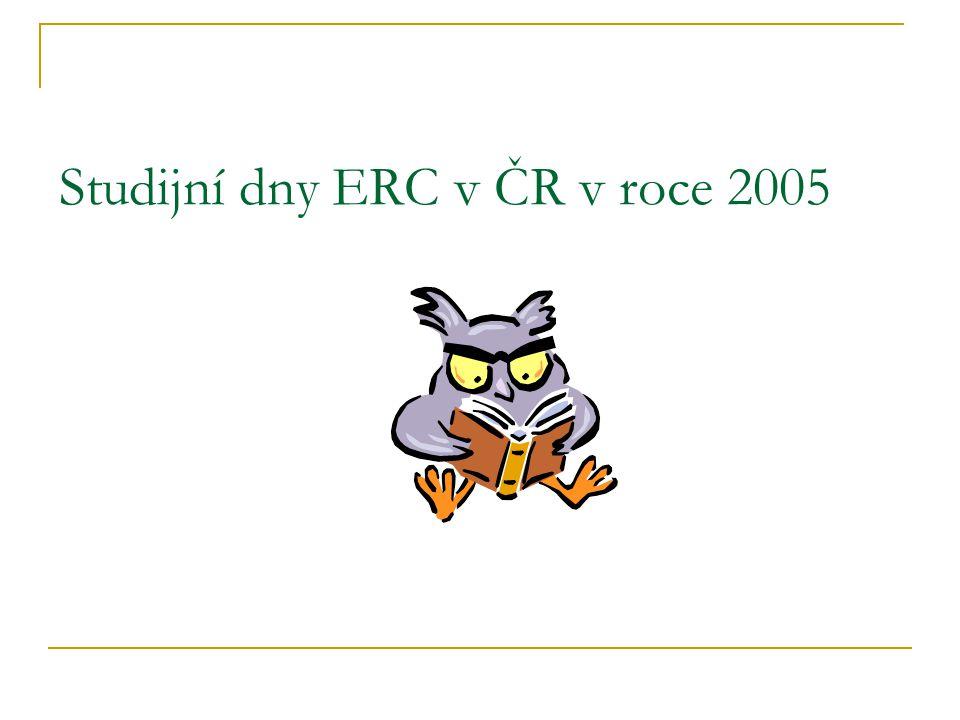 Studijní dny ERC v ČR v roce 2005