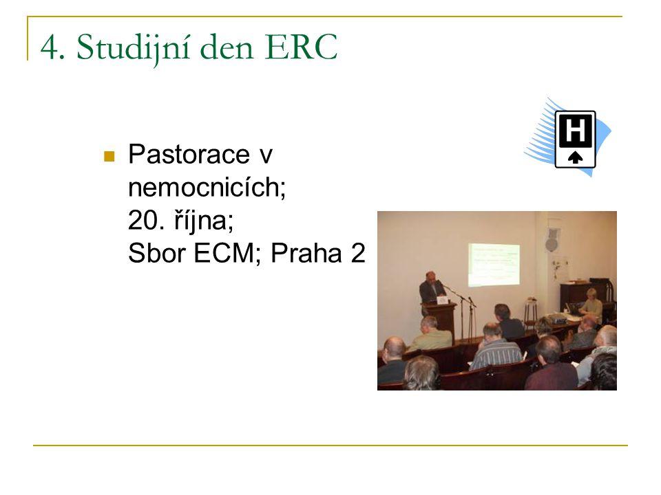 4. Studijní den ERC Pastorace v nemocnicích; 20.