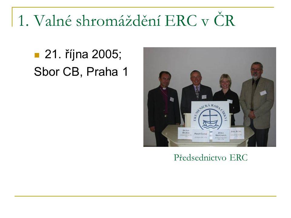 1. Valné shromáždění ERC v ČR