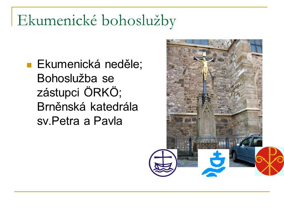 Ekumenické bohoslužby