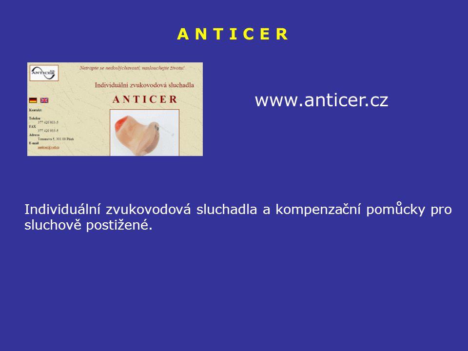A N T I C E R www.anticer.cz.